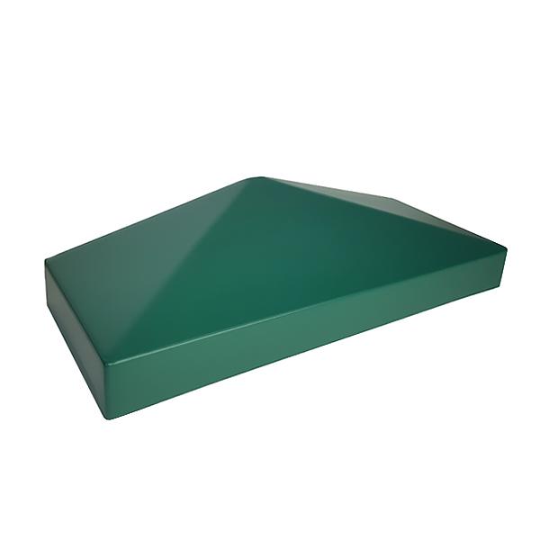 """Крышка пластиковая """"половинка"""" 385х155 зеленая"""